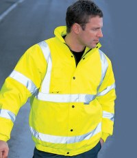 High-Vis Bomber Jacket