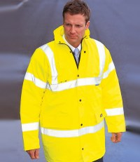 Hi-Vis Motorway Safety Jacket