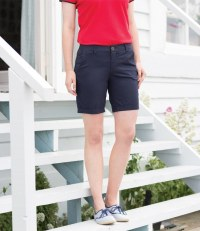 Ladies Stretch Chino Shorts