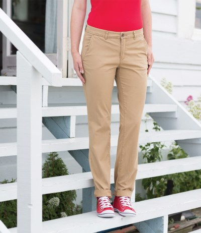 Ladies Stretch Chino