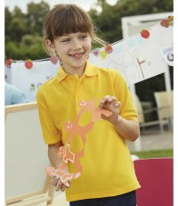 Kids Poly/Cotton Piqué Polo Shirt