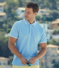 Premium Tipped Cotton Piqué Polo Shirt
