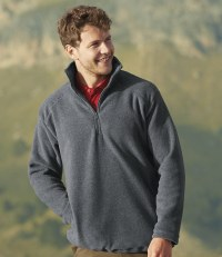 Zip Neck Outdoor Fleece