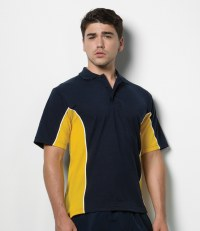 Track Poly/Cotton Piqué Polo Shirt