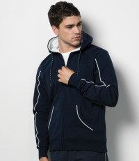 Zip Hooded Track Jacket