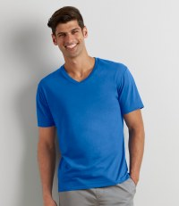 Premium Cotton V Neck T-Shirt