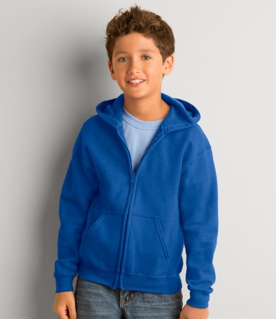 Kids Heavy Blend™ Zip Hooded Sweatshirt