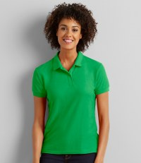 Ladies DryBlend® Double Piqué Polo Shirt
