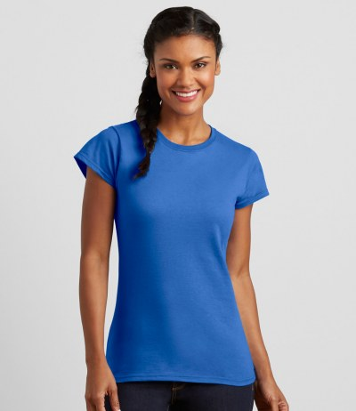 SoftStyle® Ladies Fitted Ringspun T-Shirt