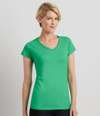 Ladies SoftStyle® V Neck T-Shirt