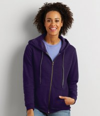 Ladies Heavy Blend® Vintage Zip Hooded Sweatshirt