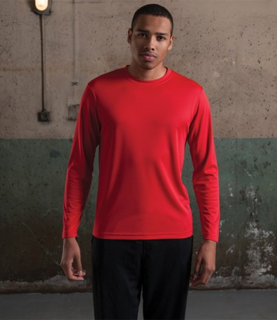 Long Sleeve Just Cool Wicking T-Shirt