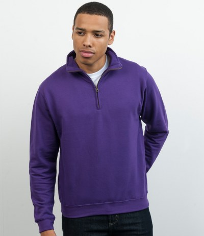 Sophomore Zip Neck Sweatshirt