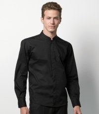 Bargear® Long Sleeve Mandarin Collar Shirt