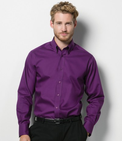 Long Sleeve Tailored Premium Oxford Shirt