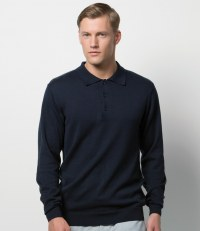 Long Sleeve Arundel Knitted Polo