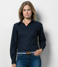 Ladies Long Sleeve Workwear Oxford Shirt