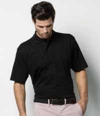 Cotton Jersey Knit Polo Shirt