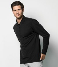 Long Sleeved Poly/Cotton Piqué Polo Shirt