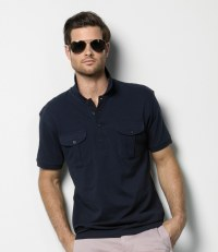 Pocket Piqué Polo Shirt
