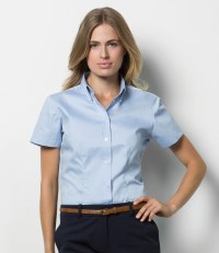 Ladies Short Sleeve Corporate Oxford Shirt