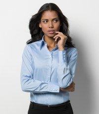 Ladies Long Sleeve Corporate Oxford Shirt