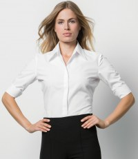 Ladies 3/4 Sleeve Continental Shirt
