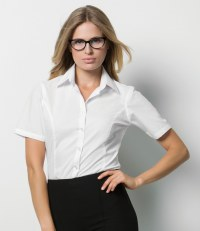 Ladies Short Sleeve Business Shirt