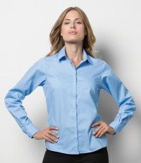 Ladies Long Sleeve Contemporary Business Shirt