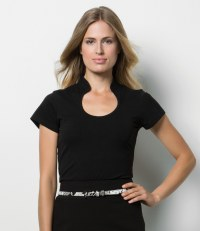 Ladies Keyhole Neck Corporate Top