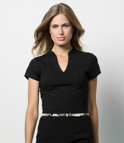 Ladies V Neck Corporate Top