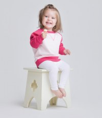 Baby/Toddler Contrast Sweatshirt