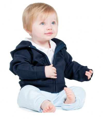 Baby/Toddler Zip Hooded Sweatshirt