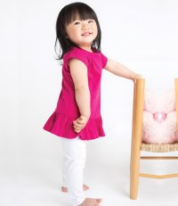 Girls Frill T-Shirt