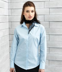 Ladies Long Sleeve Supreme Poplin Shirt