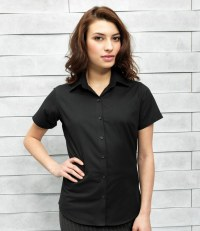 Ladies Signature Short Sleeve Oxford Shirt