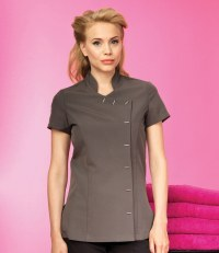 Ladies Orchid Short Sleeve Tunic