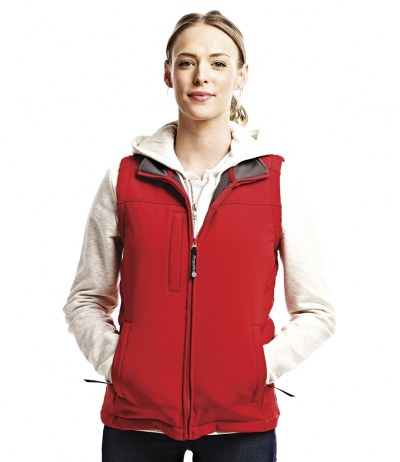 Ladies Flux Soft Shell Bodywarmer