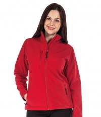 Ladies Octagon Soft Shell Jacket