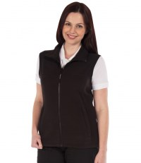 Ladies Haber II Fleece Bodywarmer