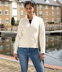 Ladies Semi-Micro Fleece Jacket