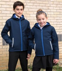 Kids TX Performance Hooded Soft Shell Jacket
