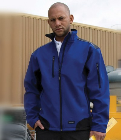 Ripstop Work-Guard Soft Shell Jacket