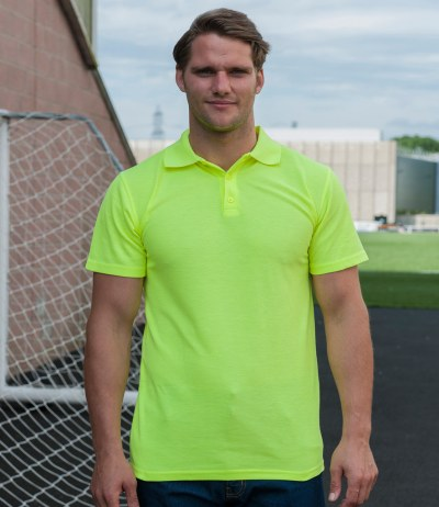 Enhanced Visibility Polo Shirt