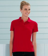 Ladies Poly/Cotton Piqué Polo Shirt