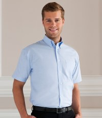 Short Sleeve Easy Care Oxford Shirt