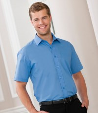 Short Sleeve Easy Care Poplin Shirt
