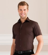 Short Sleeve Easy Care Fitted Shirt