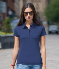Ladies Fashion Jersey Polo