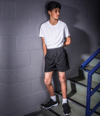 Kids All Purpose Mesh Lined Shorts